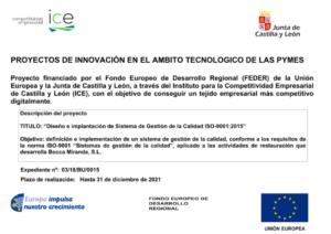 INNOVACION AMBITO TECNOLOGICO PYMES ISO-9001.2015